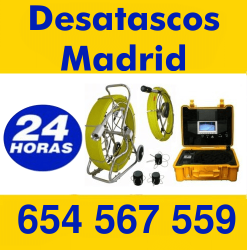 Desatascos madrid